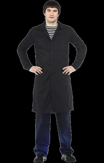 Черный халат для урока технологии Трудовичок