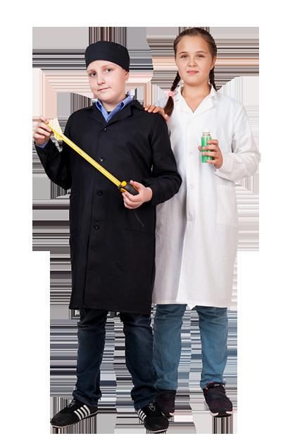 Школьный халат для Технологии для мальчиков