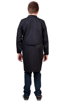 Школьный халат для Технологии Трудовичок. Черный