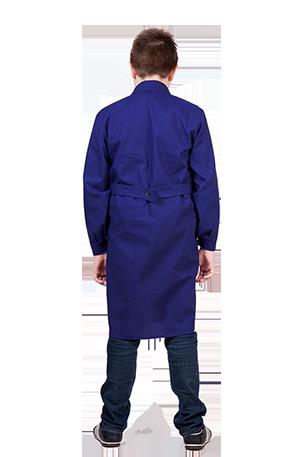 Халат для уроков труда для мальчиков Синий цвет