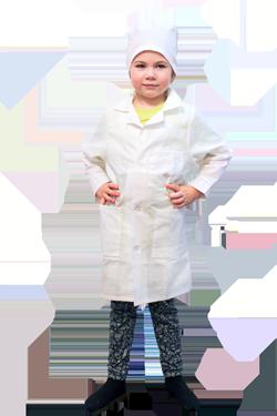Белый халат изобретателя и химика