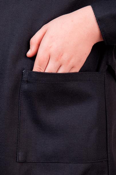 2 накладных кармана халаты Трудовичок