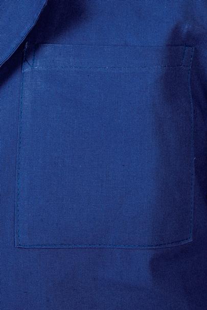 Нагрудный карман халат школьный