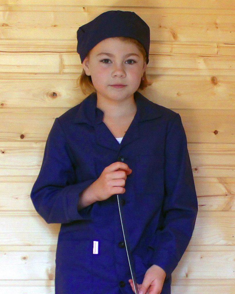 халат для труда для девочки